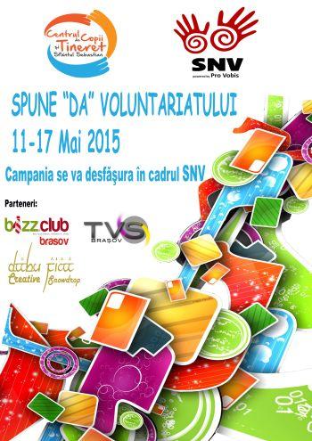 Săptămâna Națioanlă a Voluntariatului 11-17 mai 2015