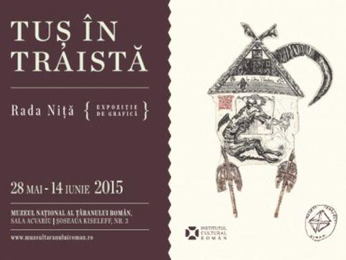 """""""Tuş în traistă"""" - expoziție Rada Niță la Muzeul Național al Țăranului Român"""