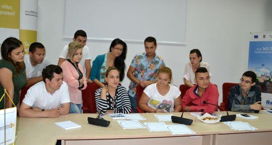 Curs pilot de instruire pentru tinerii NEET din regiunea Sud Muntenia