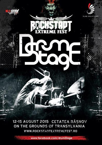 Noi confirmari la DrumStage – Rockstadt Extreme Fest 2015