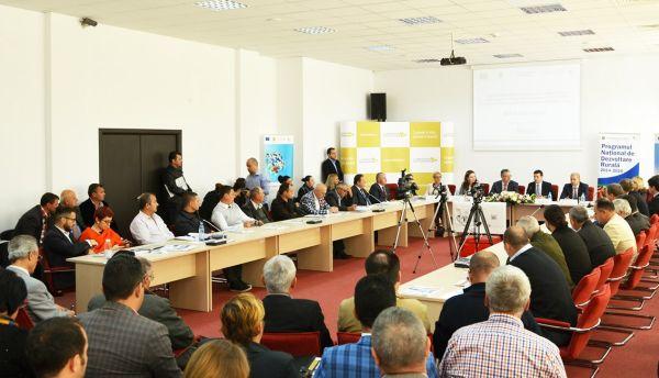 """Conferința """"Oportunități de finanțare pentru mediul privat prin POR 2014-2020 și PNDR 2014-2020"""""""