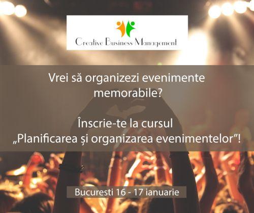 Învață acum să organizezi evenimente memorabile!