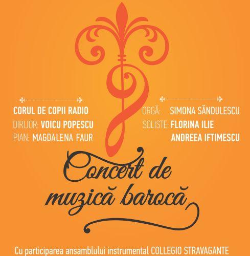 #Concert | Corul de Copii Radio - muzică barocă