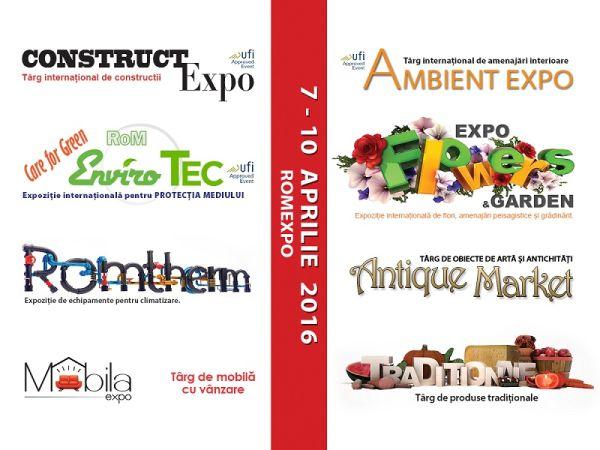 #Targ Construct Expo Ambient Expo Mobila Expo Expo Flowers&Gardens Romtherm Romenvirotec Antique Market