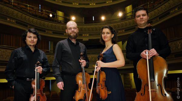 Cvartetul Arcadia - foto Virgil Oprina
