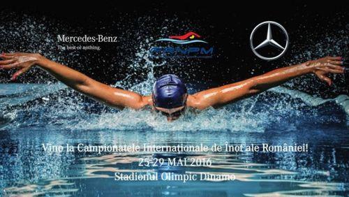 Mercedes-Benz sprijina Campionatele Internationale de Inot ale Romaniei