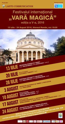 Vara Magică 2016 la Ateneul Român