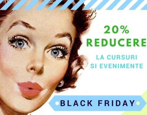 Black Friday la Fundatia Calea Victoriei: 20% reducere la cursuri (16-18 nov)