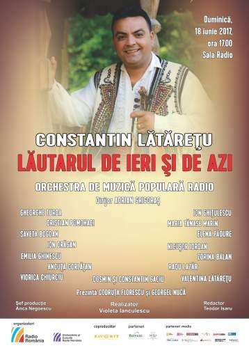#Concert și Lansare CD | Constantin Lătărețu