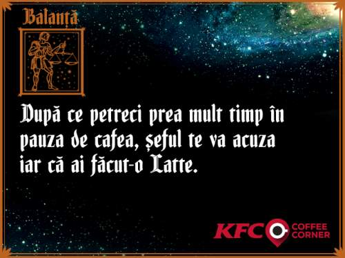 KFC și Golin citesc în cafea cu Doamna Stela, pentru lansarea primului Coffee Corner KFC
