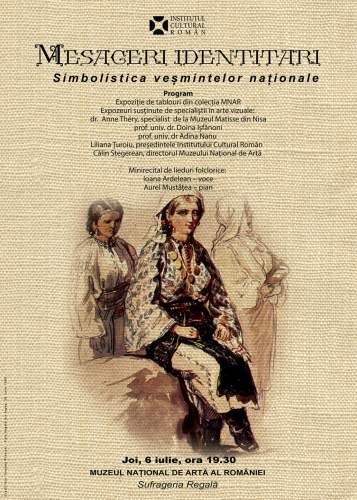 Celebrarea costumului tradiţional românesc la Muzeul Naţional de Artă