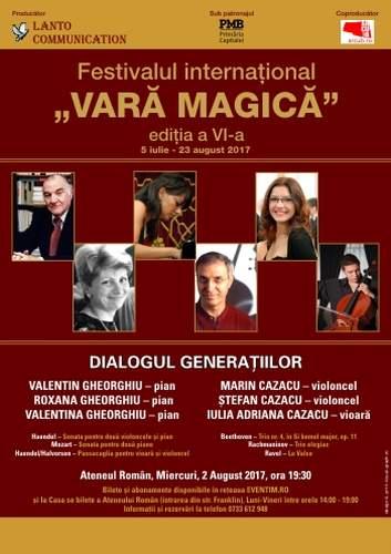 Valentin Gheorghiu și invitații săi la Ateneul Român