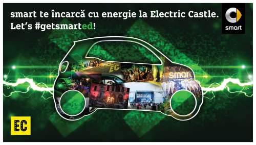 smart electrizează festivalul de muzică Electric Castle în calitate de Official Ride