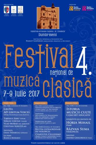Festivalul Național de Muzică Clasică, Dumbrăveni, ediția a IV-a