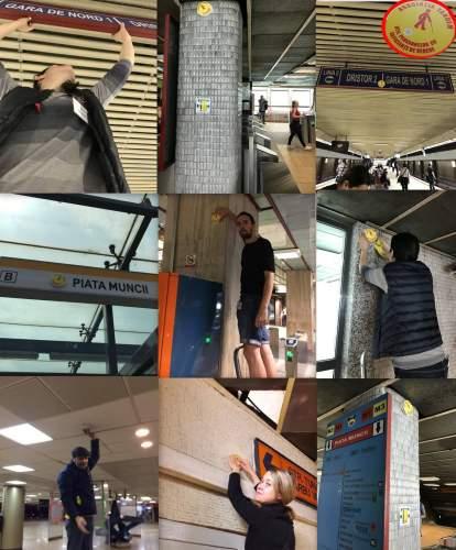 Metroul e accesibilizat pentru nevăzători prin Tandem Acces