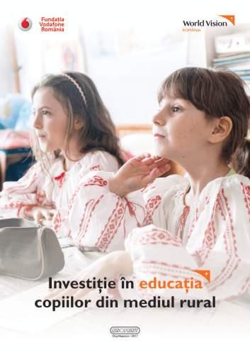 Investiţie în educaţia copiilor din mediul rural