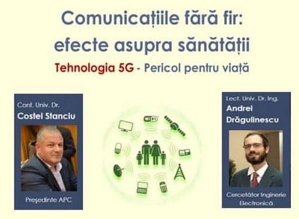 Asociaţia Pro Consumatori (APC): Conferinţă pe tema pericolului tehnologiei 5G, la Piatra-Neamţ