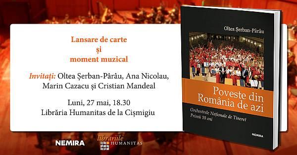 Povestea primilor zece ani ai Orchestrei Naționale de Tineret se lansează pe 27 mai