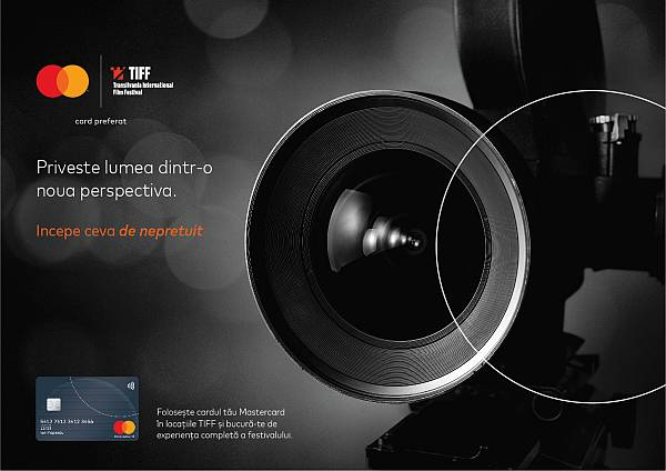 Mastercard, pentru al 13-lea an partener al Festivalului Internațional de Film Transilvania (TIFF)