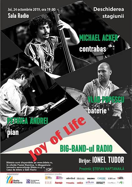 JOY of LIFE primul concert din stagiunea de jazz de la Sala Radio!