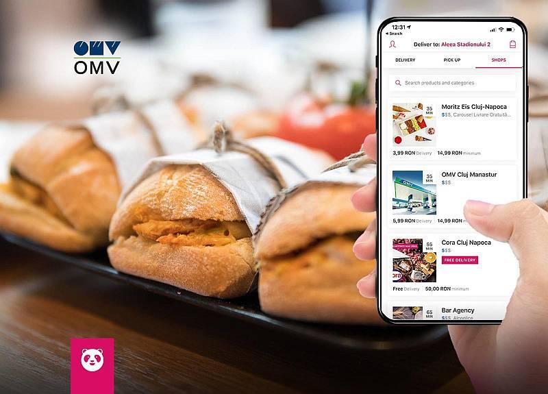 foodpanda livrează produse Viva din stațiile OMV