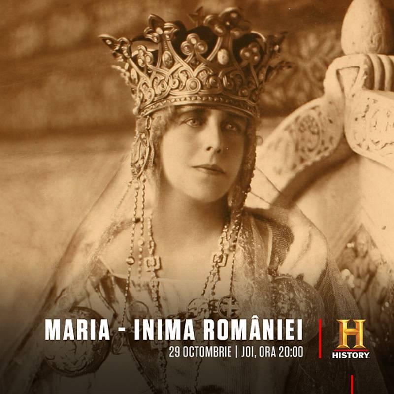 HISTORY Maria – Inima Romaniei