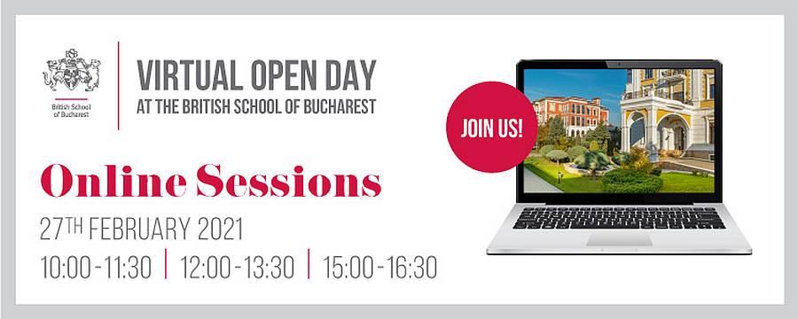 British School of Bucharest organizează Virtual Open Day 27 februarie 2021