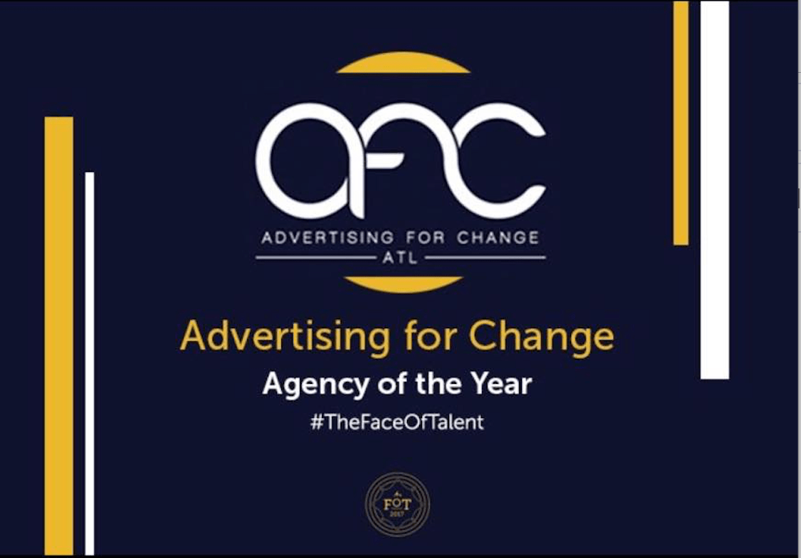 Advertising for Change wins the MAIP 2017 Agency Of the Year Award award