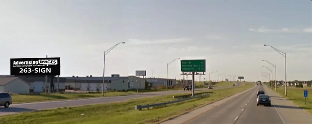 1-235 & West St Billboard Wichita, KS