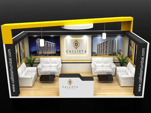callista stall exhibition & fabrication