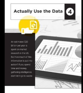 5 Ways to gain and edge on your competition-Actually use the data