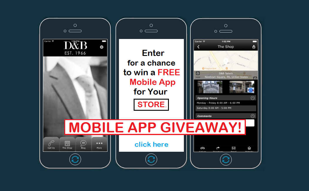 Enter to Win a FREE Mobile App for Your Retail Business