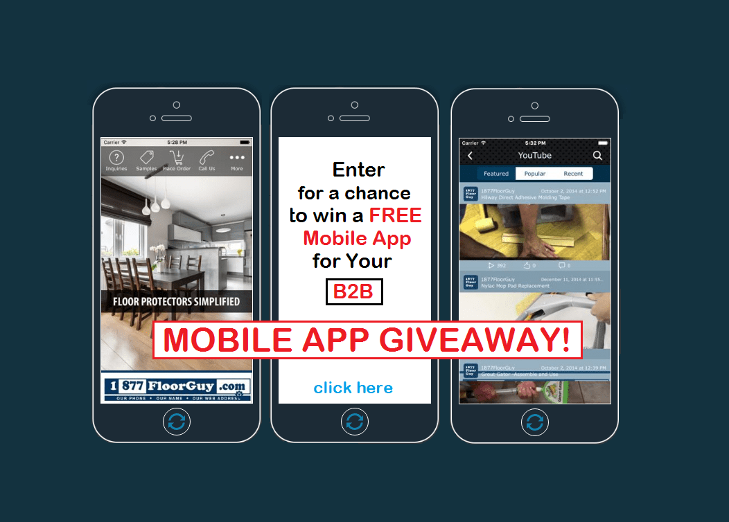 Enter to Win a FREE Mobile App for Your B2B