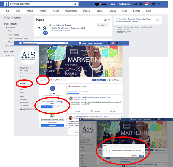 facebook instructions_AIS