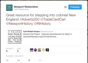 Newport Restoration 5 March 2016