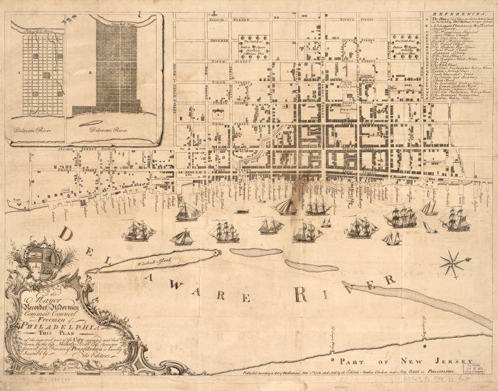 Jul 17 - Map of Philadelphia