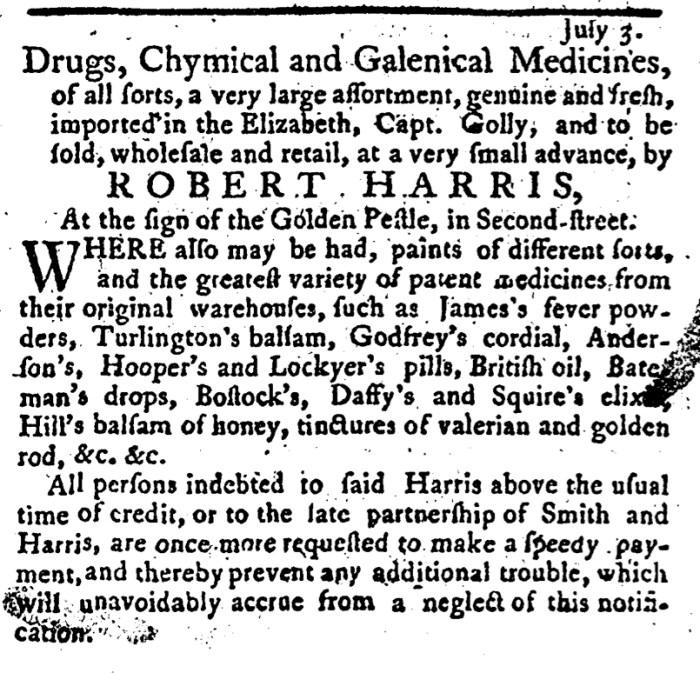 Jul 24 - 7:24:1766 Pennsylvania Journal