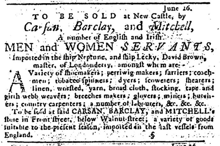 Jul 3 - 7:3:1766 Pennsylvania Journal