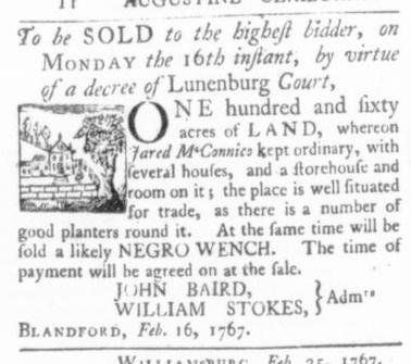 Mar 12 - Virginia Gazette (Purdie & Dixon) Slavery 3