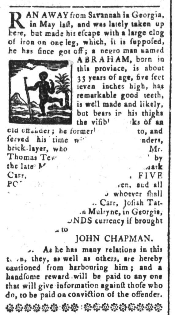 Mar 27 - South-Carolina and American General Gazette Slavery 6
