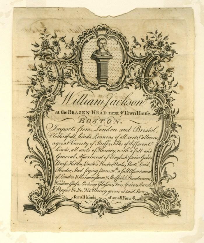 Apr 10 - William Jackson Trade Card