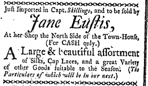 Apr 20 - 4:20:1767 Boston-Gazette