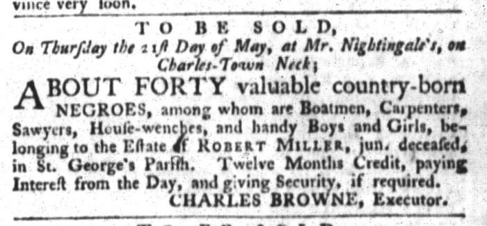Apr 21 - 4:21:1767 South-Carolina Gazette and Country Journal