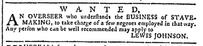 Apr 29 - Georgia Gazette Slavery 9