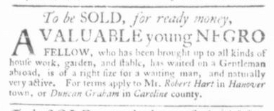 Apr 30 - Virginia Gazette Slavery 2