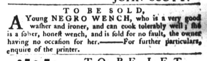 Jun 9 - South-Carolina Gazette and Country Journal Supplement Slavery 5