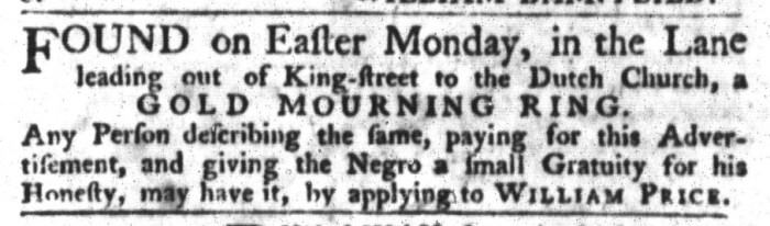 May 12 - South-Carolina Gazette and Country Journal Slavery 7