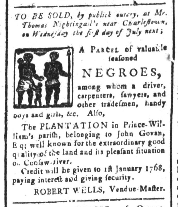 May 22 - South-Carolina and American General Gazette Slavery 7