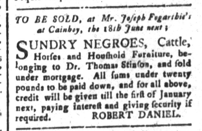 May 29 - South-Carolina and American General Gazette Slavery 3