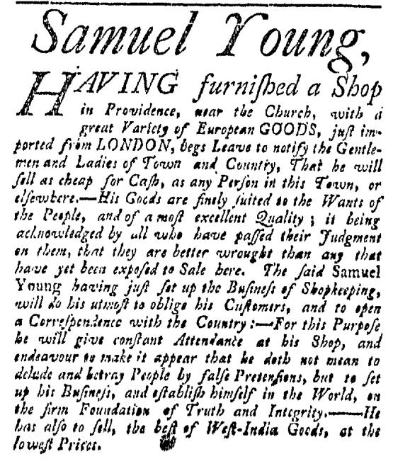May 30 - 5:30:1767 Providence Gazette